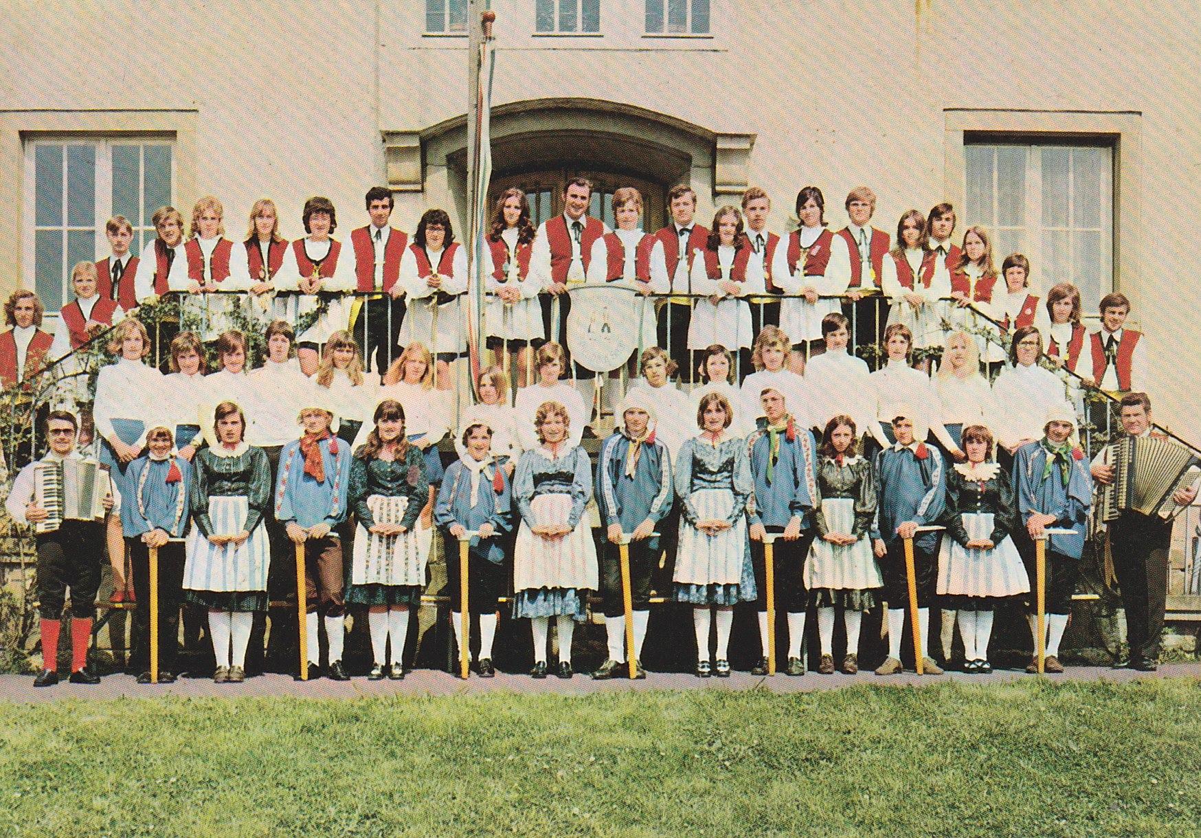 Tanzgruppe 1970